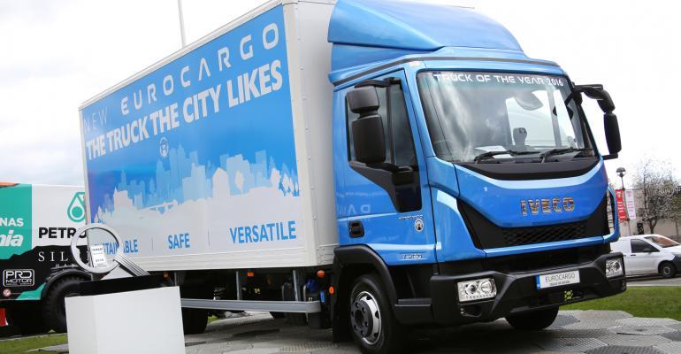 Truck maker Iveco says Eurocargo meets Euro VI emissions standard