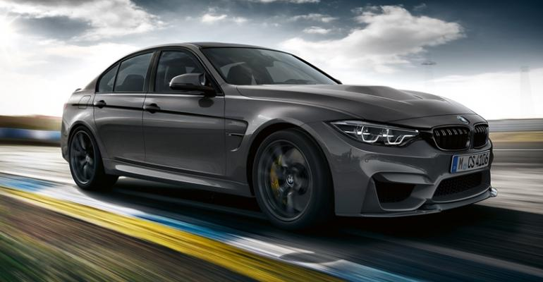 BMW to build just 1200 copies of M3 CS