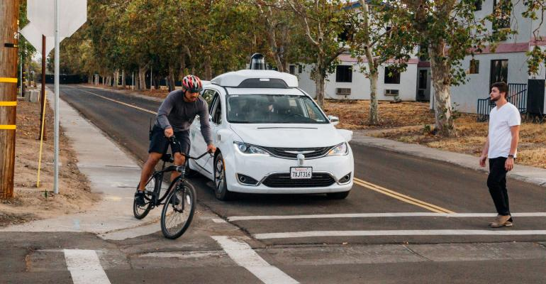 Waymo technicians pose as distracted cyclists and pedestrians and challenge selfdriving capabilities throughout structured testing route