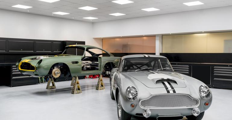 Aston Martinrsquos Heritage division to operate out of original UK factory