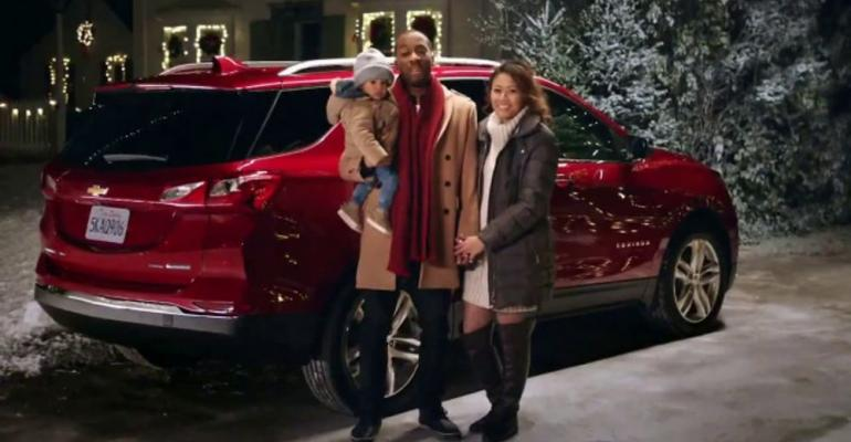 Topranked ad invites viewers to join Chevrolet ldquofamilyrdquo