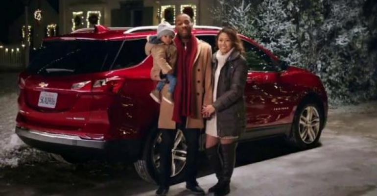 Chevyrsquos holiday pitch resonates with viewers