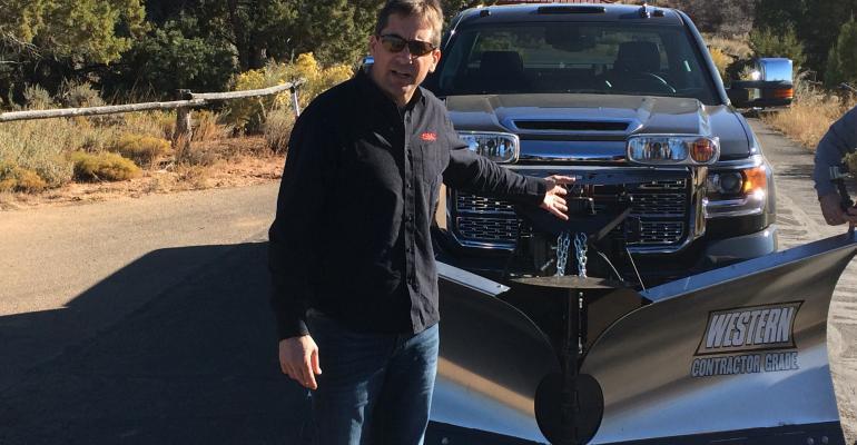 GMrsquos Hackett talks about snowplow capabilities of GMC Sierra 2500HD