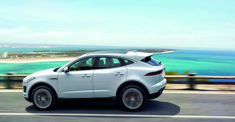 Jaguar EPace gets European fivestar safety rating
