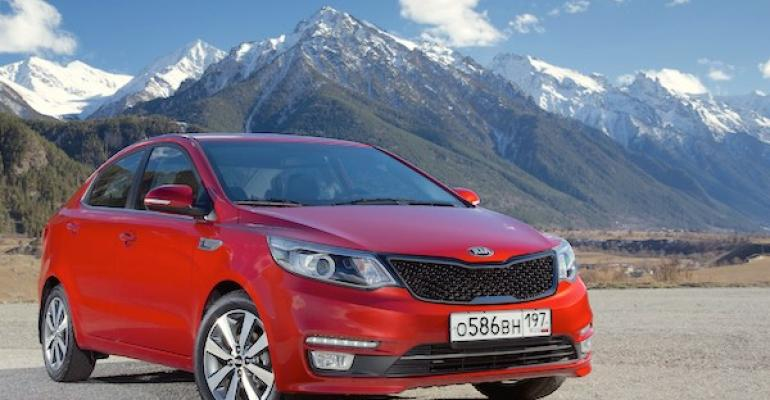 Kia Rio likely to finish year as Russiarsquos bestselling model