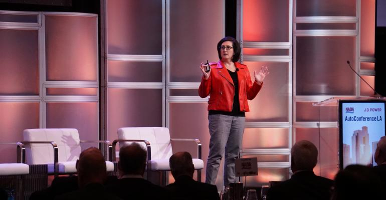 ldquoGet creative with explaining technologyrdquo Kolodge tells dealers at automotive conference