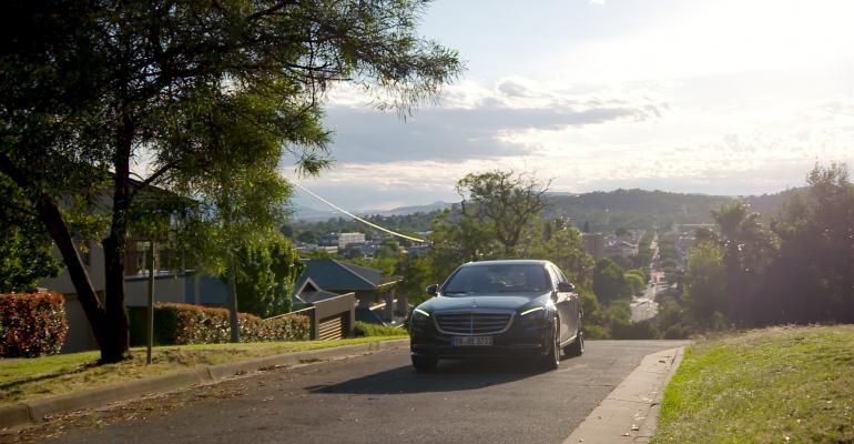 MercedesBenz autonomous SClass on 539mile drive from Sydney to Melbourne