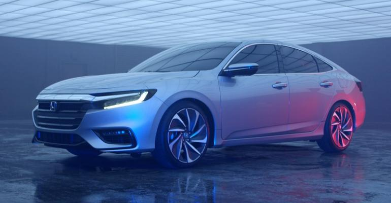 rsquo19 Honda Insight on sale later in 2018