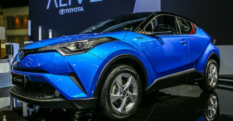 Toyotarsquos first hybrid in Thailand will be CHR CUV which will begin deliveries in March
