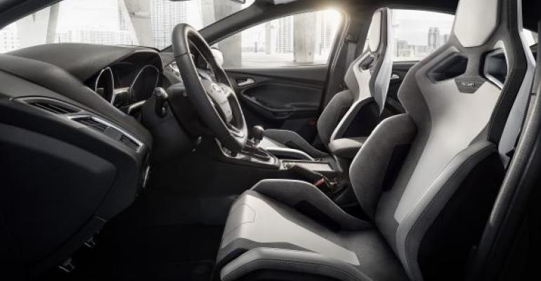 Recaro Performance Seat Platform leads way into new automotive segments
