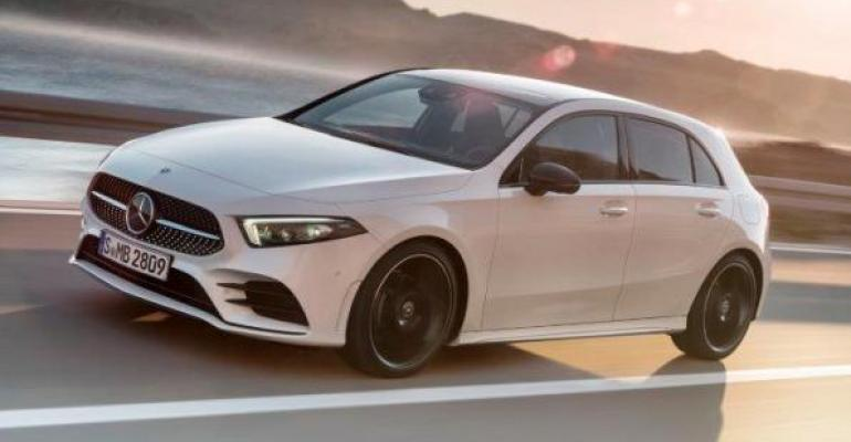 New AClass in vanguard of MercedesBenzrsquos upcoming compact models