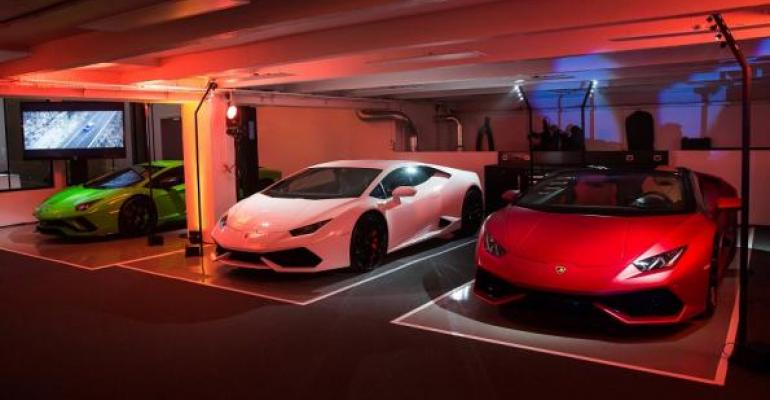 Automakerrsquos fifth showroom in France is first in capital