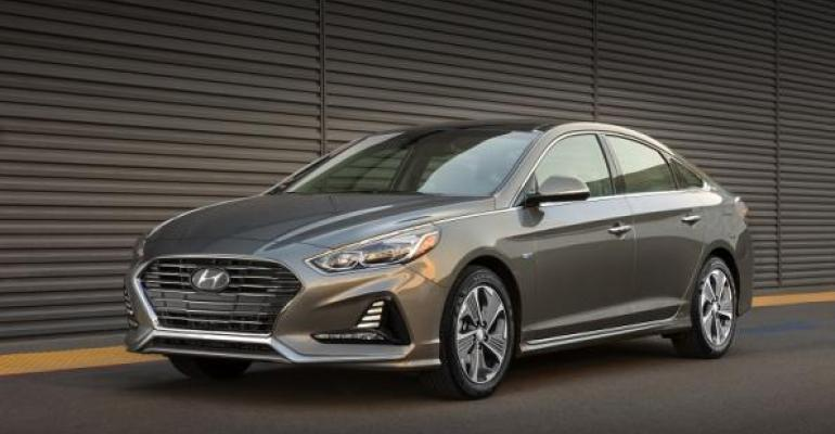 New Sonata Hybrid on sale Q1 2018 in US