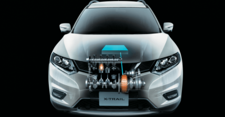 Nissan XTrail one of three locally built hybrids