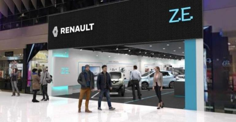 Store will feature electriccar configurator Advisors will be available seven days a week