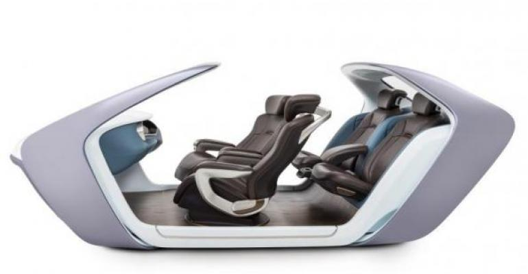 Adient seating concept for autonomous driving