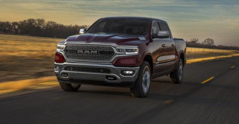 Allnew rsquo19 Ram features sleeker styling retains hint of bigrig look