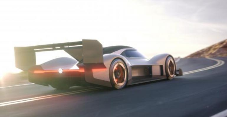 Aerodynamic hardware lends Le Mans look to VWrsquos prototype EV