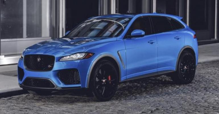 Jaguar FPace SVR on sale this summer in US