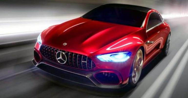 AMG coupe shares chassis electrical architecture with Mercedes CLS EClass