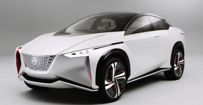 Nissan IMx concept inspiration for planned global electric CUV