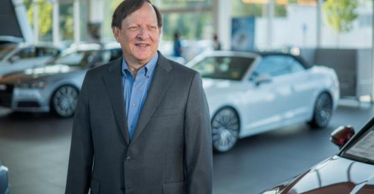 Schwartz at dealership Dealers play important roles he says