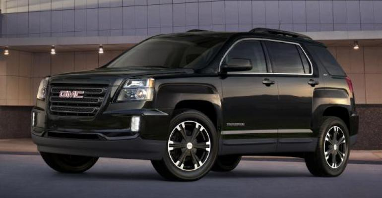 GMC Terrain sales up 92 over last year