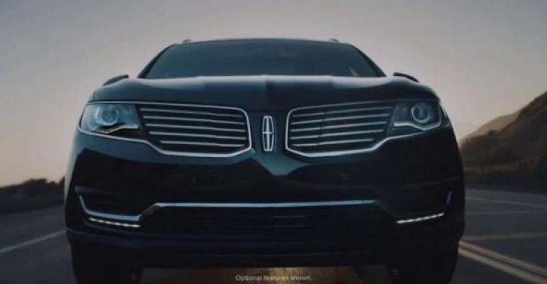 Actor Matthew McConaughey provides voiceover for fourthranked Lincoln MKX ad