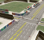 Artist rendering depicts complex intersection and infrastructure at American Center for Mobility