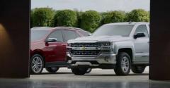 Chevrolet ad underscores brand's J.D. Power dependability awards.
