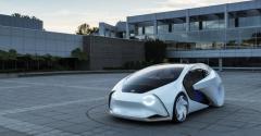 Toyota Concept i autonomous vehicle